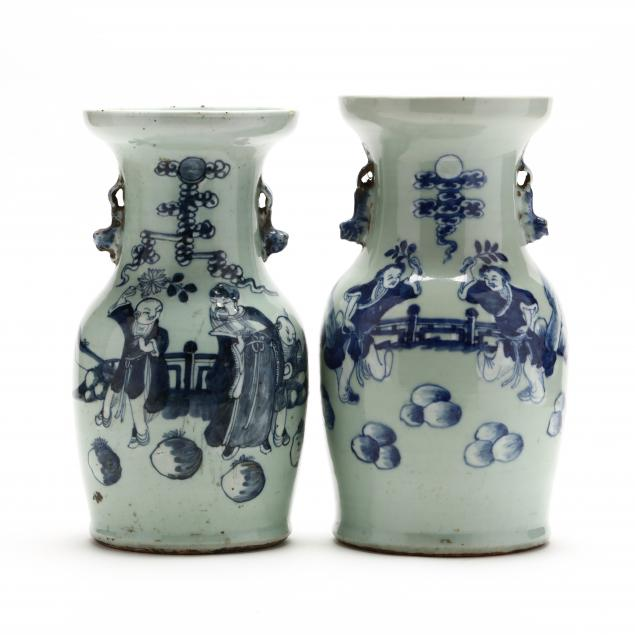 a-matched-pair-of-celadon-ground-blue-and-white-chinese-vases