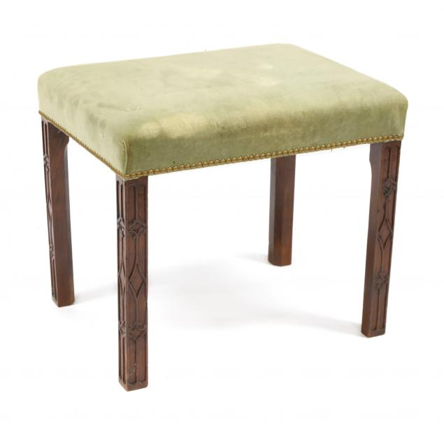 antique-chinese-chippendale-style-mahogany-stool