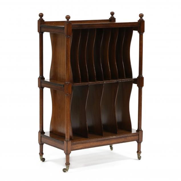 antique-english-mahogany-music-stand