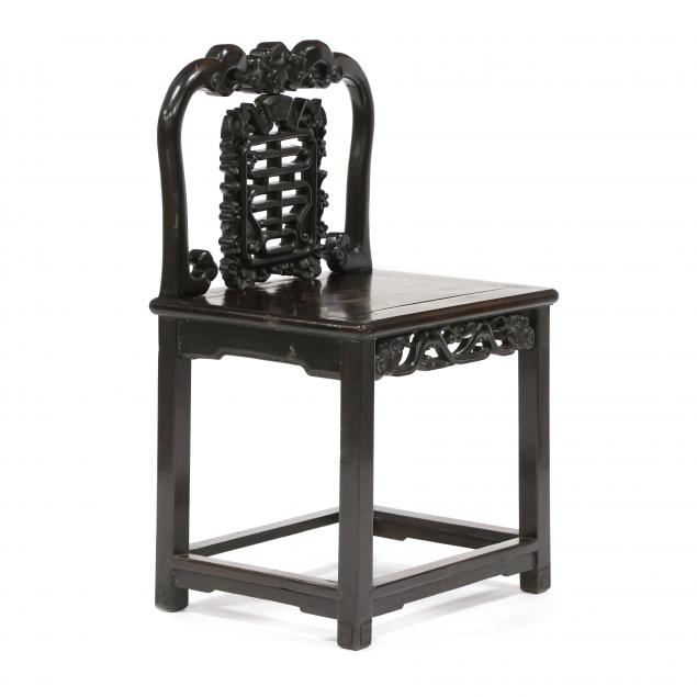 chinese-carved-hardwood-side-chair