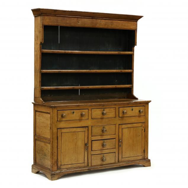 antique-english-pine-pewter-cupboard