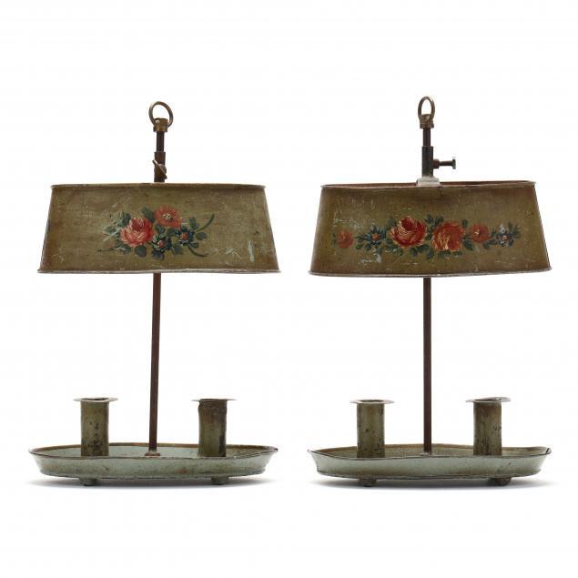pair-of-vintage-toleware-candlesticks