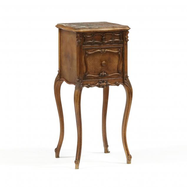 louis-xv-style-marble-top-walnut-stand