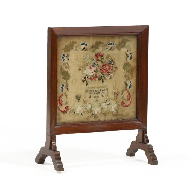 framed-sampler-firescreen