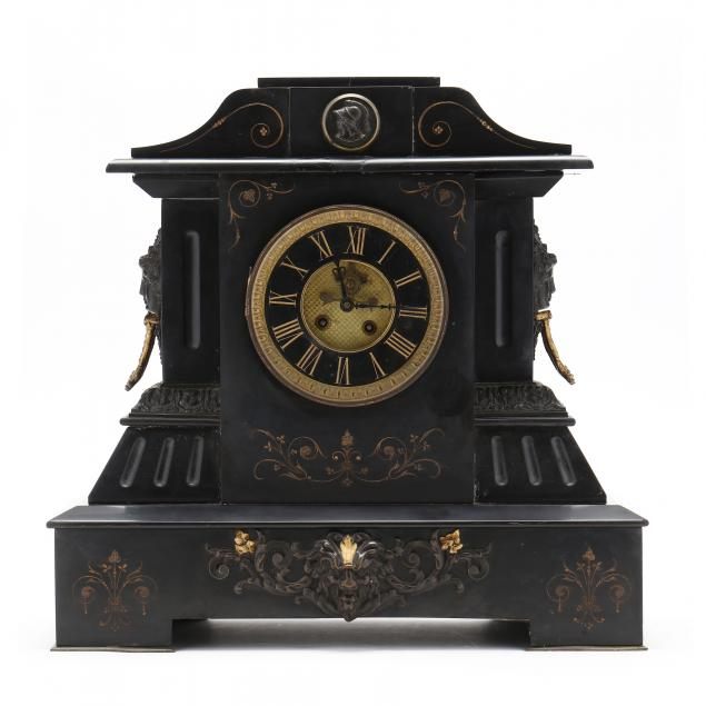victorian-slate-and-ormolu-figural-mantel-clock