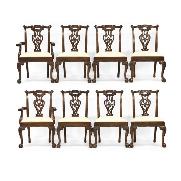 henredon-set-of-eight-chippendale-style-mahogany-dining-chairs