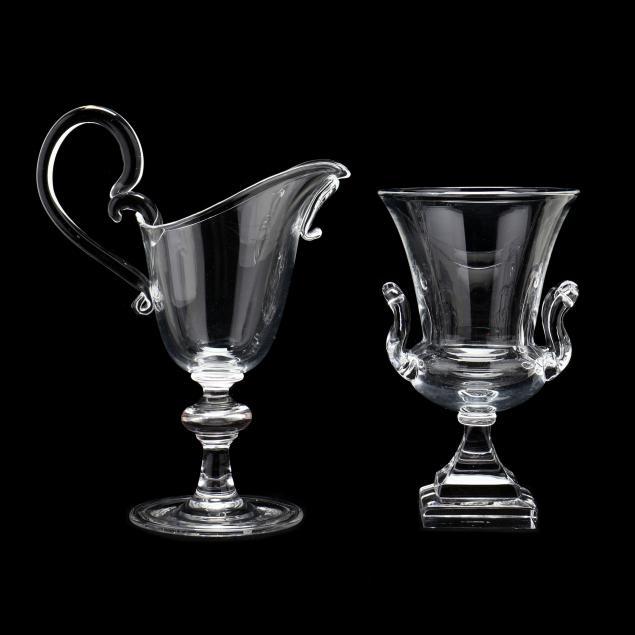 steuben-crystal-urn-and-cream-pitcher