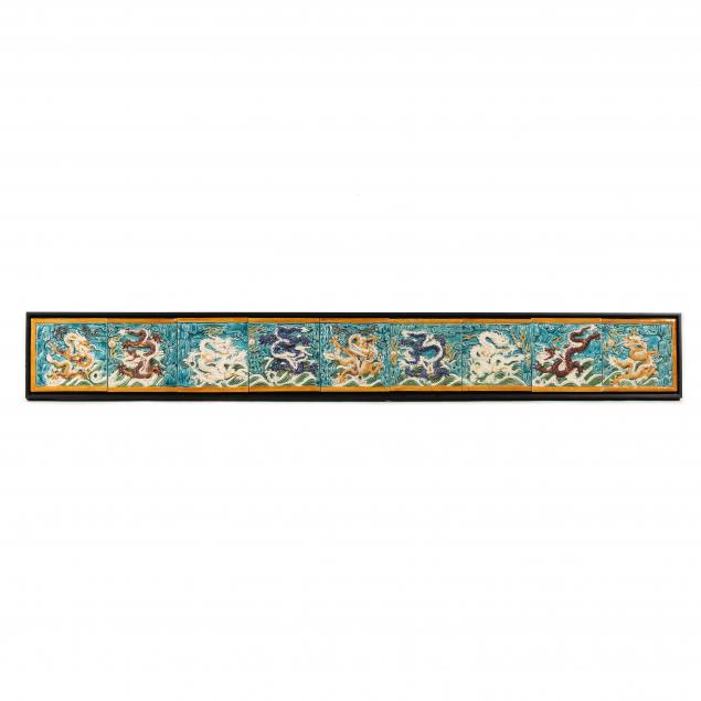 nine-chinese-dragon-wall-tiles-framed
