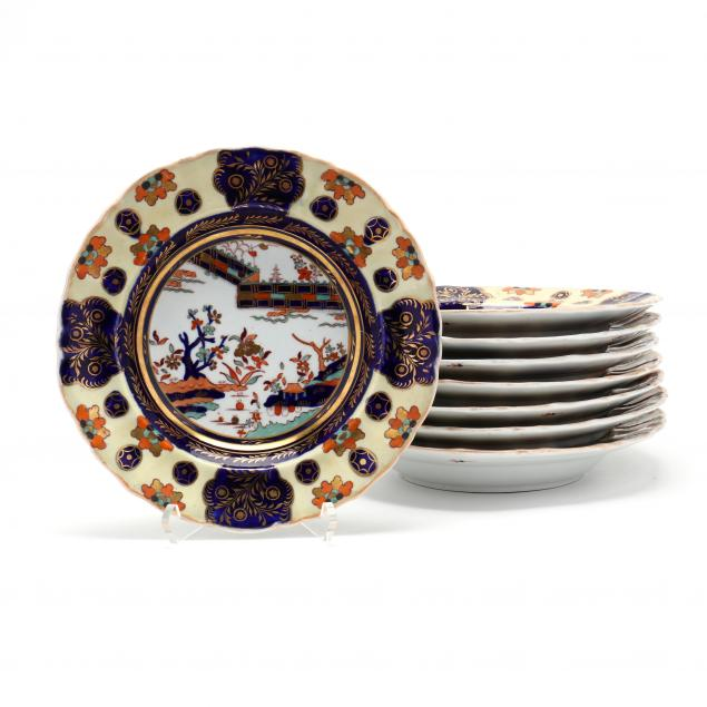 eight-mason-s-ironstone-soup-plates
