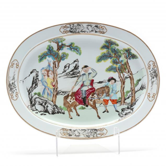 mottahedeh-porcelain-platter-nelson-rockefeller-collection