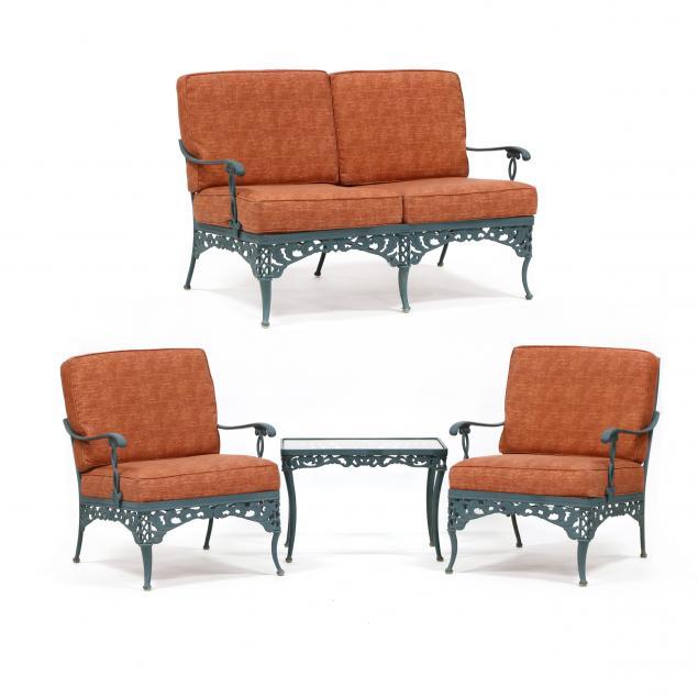brown-jordan-four-piece-patio-set