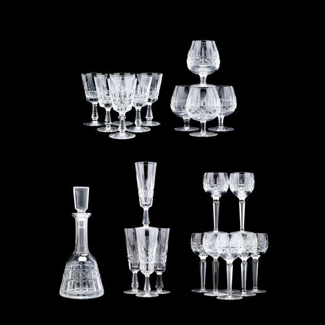 waterford-a-grouping-of-i-kylemore-i-crystal-barware