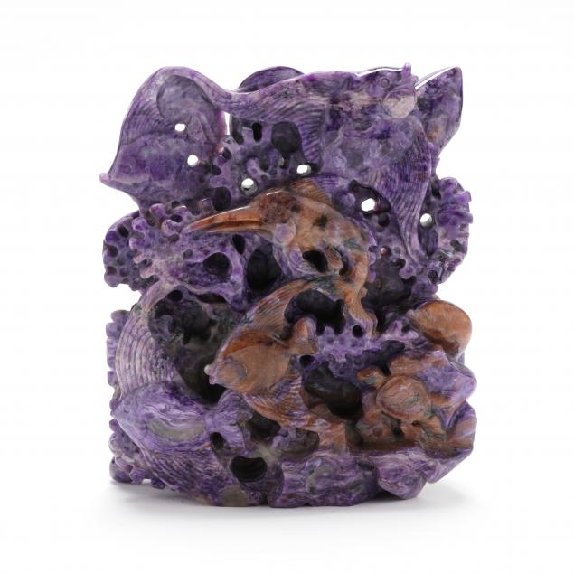 a-chinese-charoite-carving-of-sea-creatures