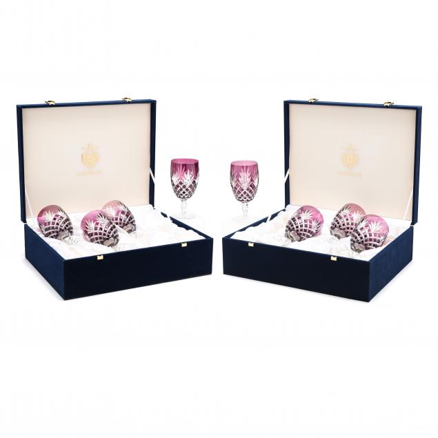 faberge-set-of-eight-i-harlequin-i-cut-to-clear-goblets