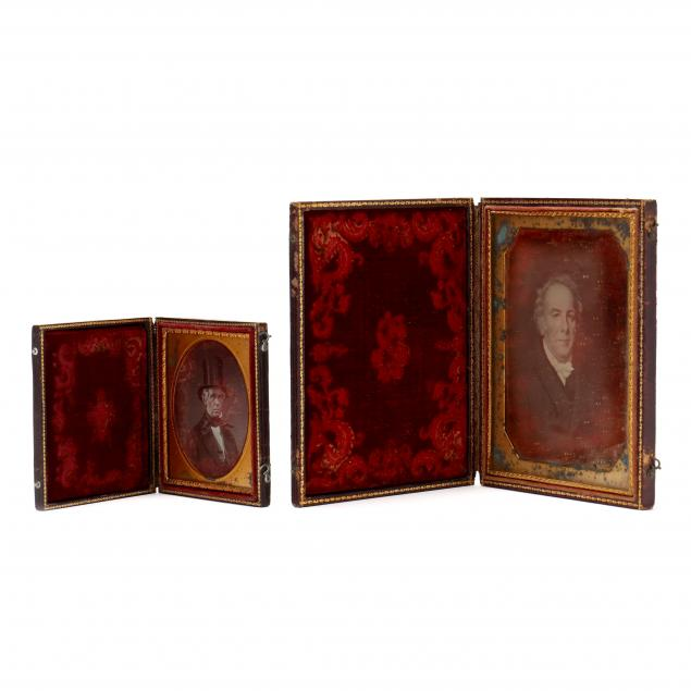 two-fully-cased-daguerreotypes-a-half-plate-and-a-sixth-plate