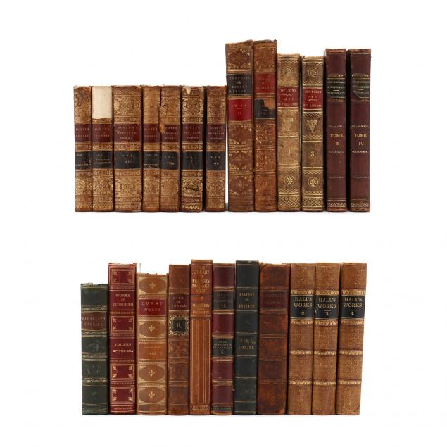 24-assorted-antique-leatherbound-books