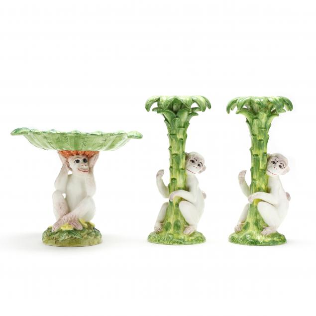 vietri-monkey-and-palm-table-accent-pieces