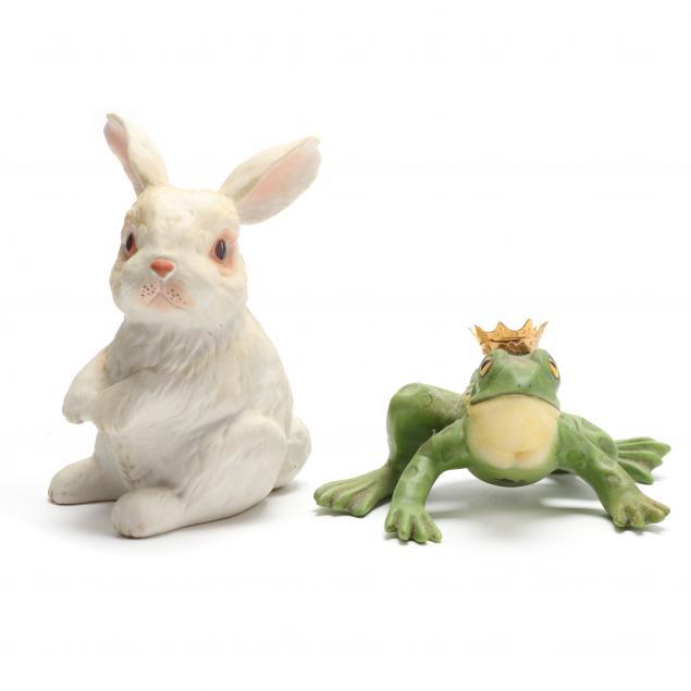 two-boehm-porcelain-animal-sculptures