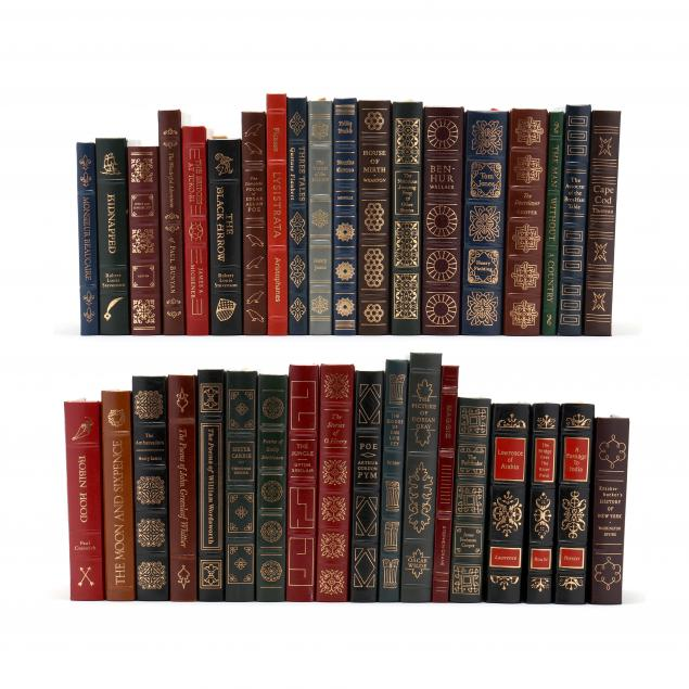 collection-of-37-finely-bound-easton-press-books