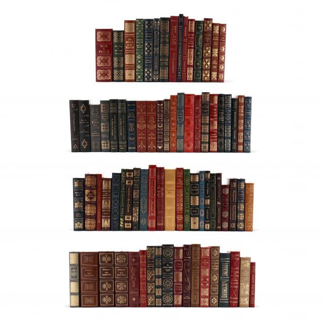 collection-of-78-finely-bound-easton-press-books