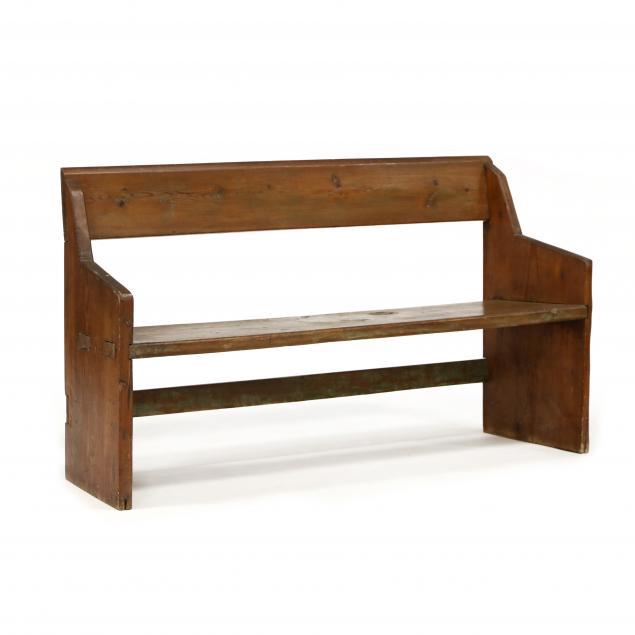 primitive-pine-bucket-bench