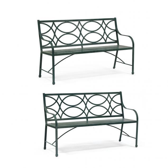 mckinnon-and-harris-pair-of-virginia-benches