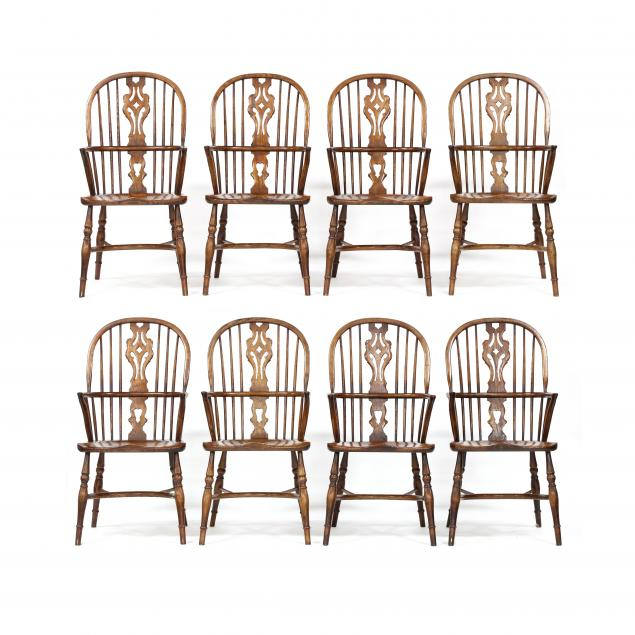 set-of-eight-windsor-armchairs