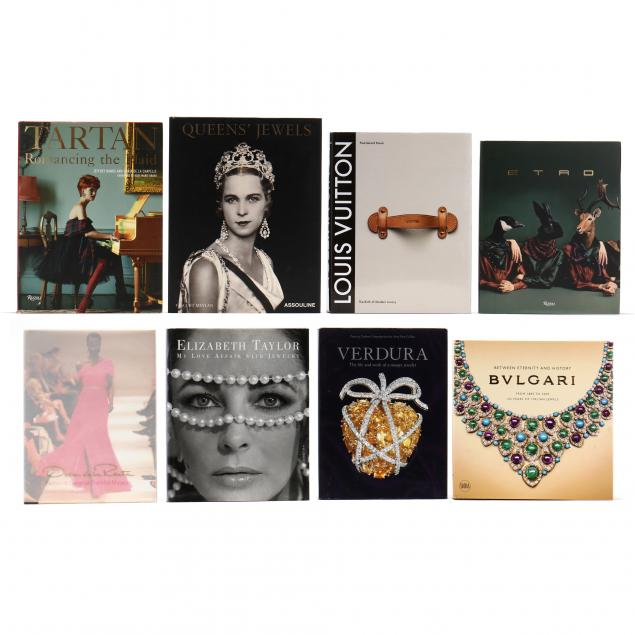 eight-heavily-illustrated-books-variously-on-fashion-style-and-jewelry