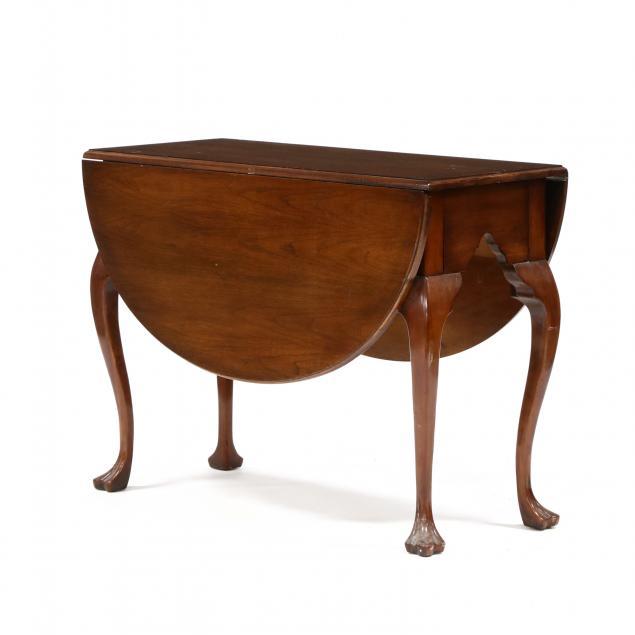 wellington-hall-mahogany-drop-leaf-table