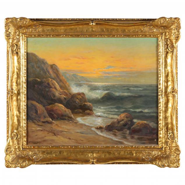 nels-hagerup-norwegian-american-1864-1922-crashing-surf-at-sunset