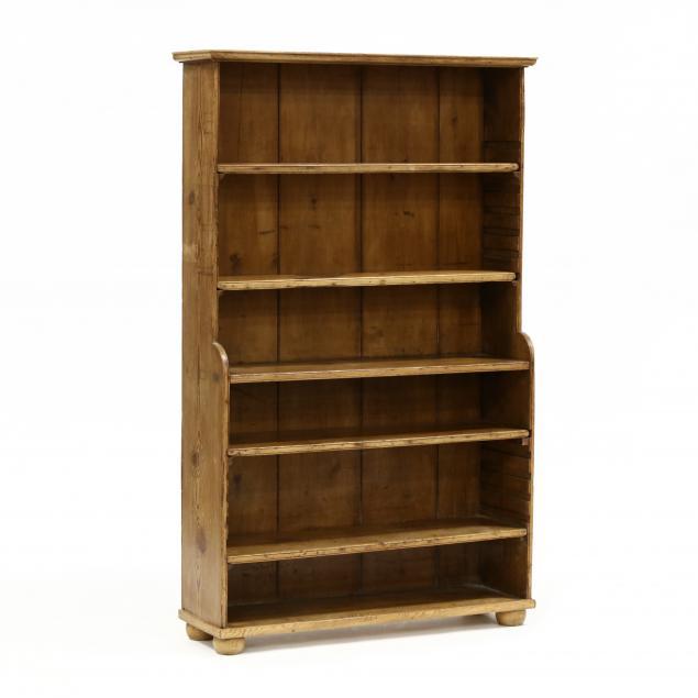 antique-continental-diminutive-pine-bookshelf