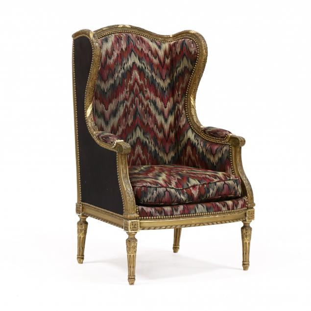louis-xvi-style-carved-and-gilt-winged-bergere