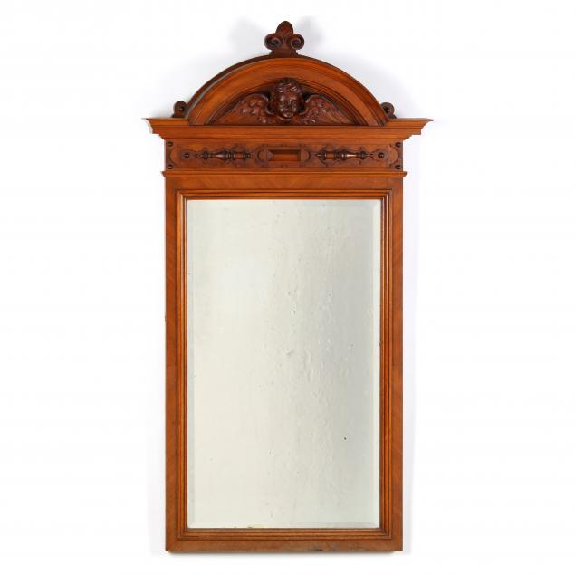 continental-carved-walnut-mirror