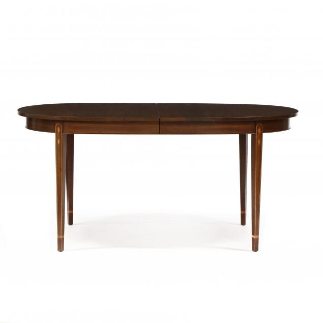 henkel-harris-federal-style-inlaid-mahogany-dining-table