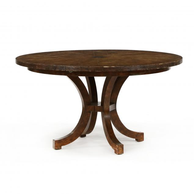 contemporary-brass-inlaid-extension-dining-table