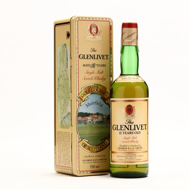 glenlivet-scotch-whisky-in-muirfield-classic-golf-courses-tin