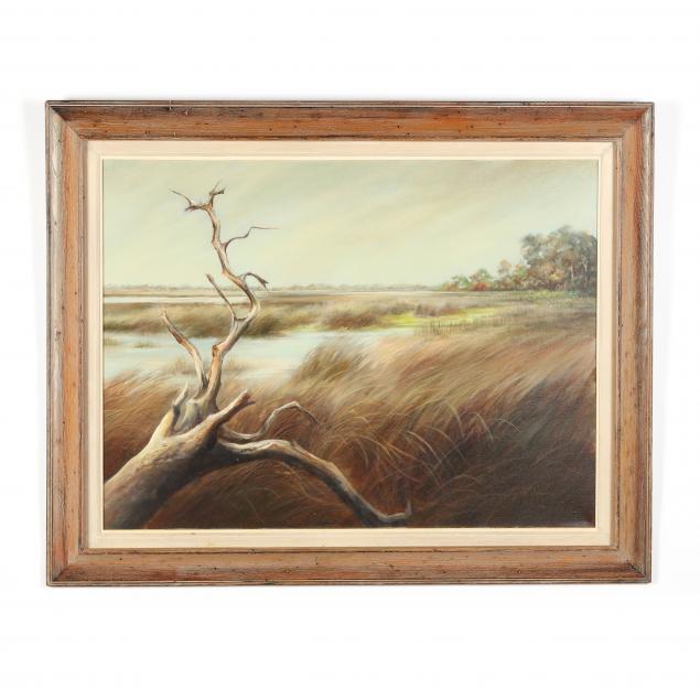 betty-foy-sanders-american-b-1926-low-country-landscape