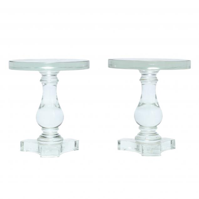 pair-of-solid-glass-side-tables