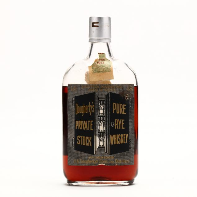 doughertys-private-stock-pure-rye-whiskey
