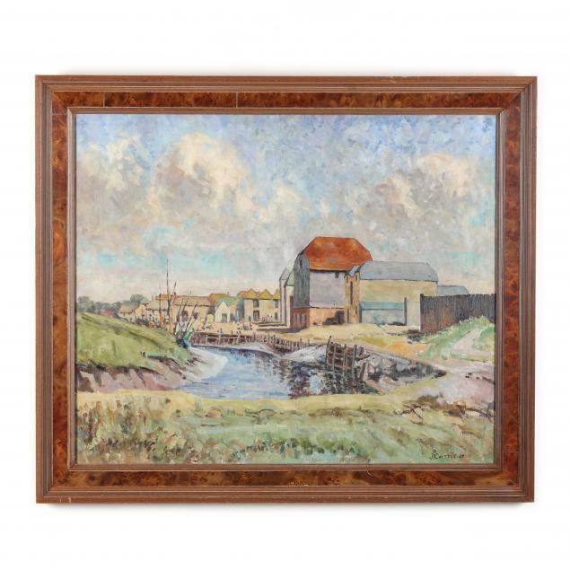 james-p-chuttle-english-1871-1944-i-the-river-mill-i