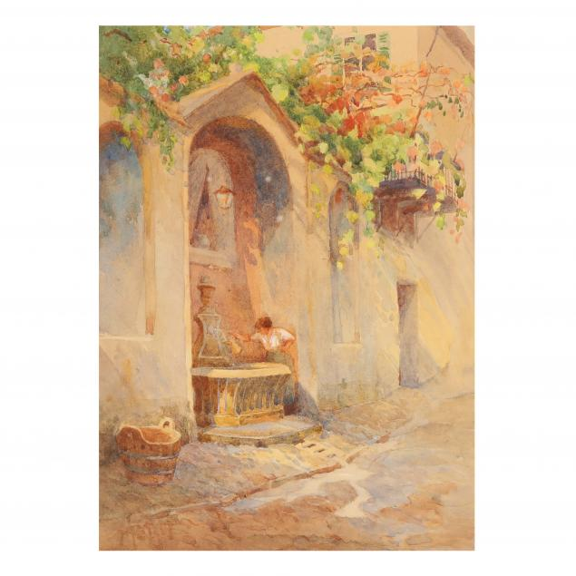 attributed-sir-henry-st-john-mildmay-british-1853-1916-i-the-fountain-at-louere-i