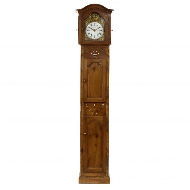 french-provincial-inlaid-cherry-tall-case-clock