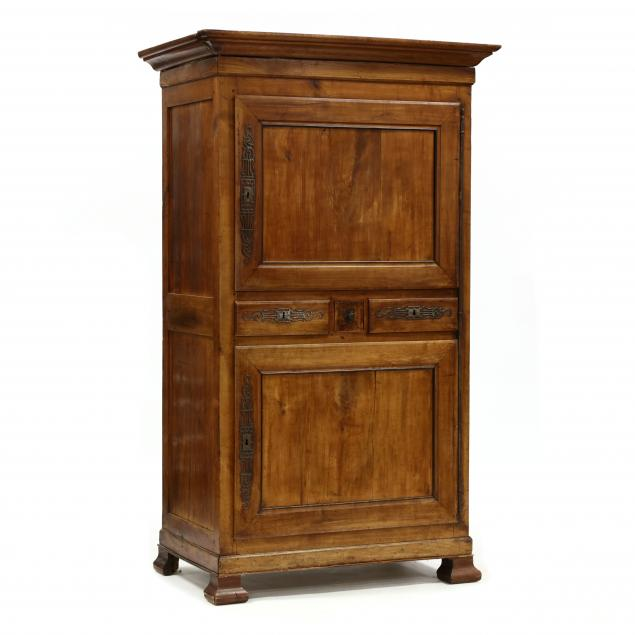 french-provincial-cherry-armoire