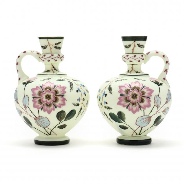 pair-of-antique-satin-glass-vases-or-candleholders