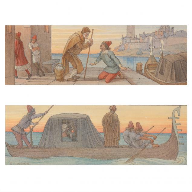 edwin-buckman-british-1841-1930-two-venetian-fantasy-scenes