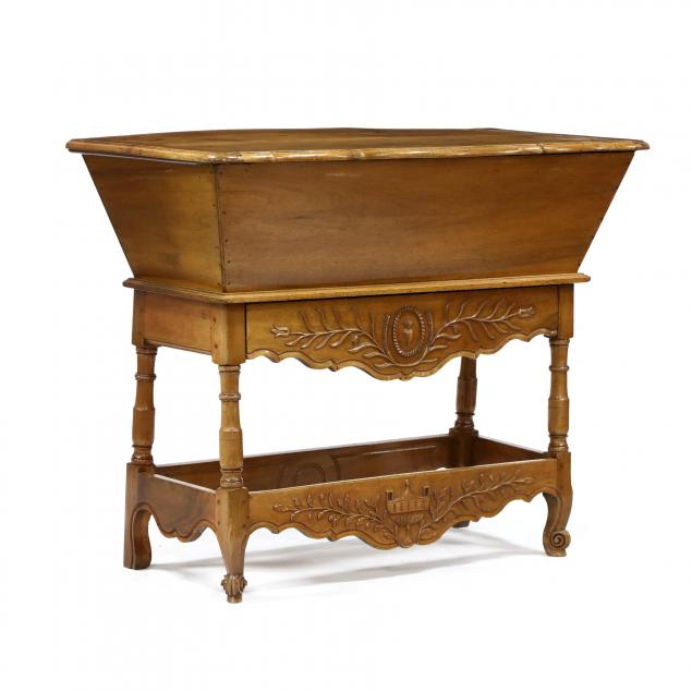 antique-french-carved-walnut-dough-box-on-stand