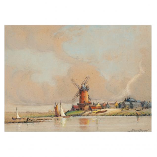 snow-gibbs-british-1882-ca-1970-i-clay-windmill-norfolk-england-i