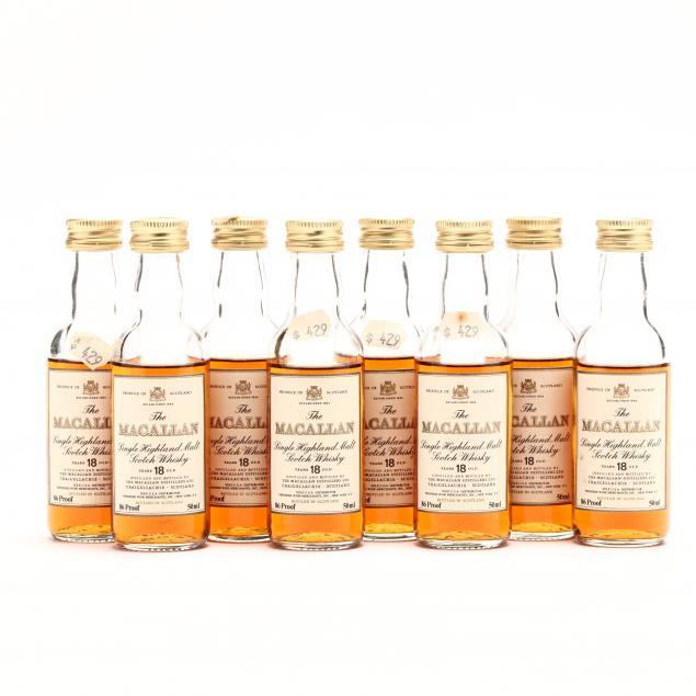 macallan-scotch-whisky-miniature-bottles
