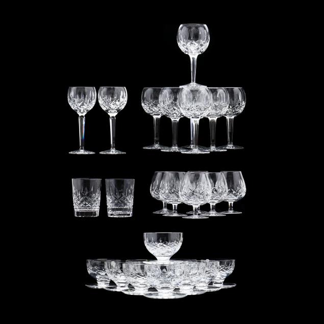 waterford-a-collection-of-i-lismore-i-cut-crystal-stemware