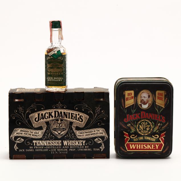 miniature-vintage-jack-daniels-collection